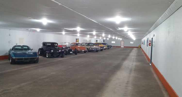 Secured Classic Car, Hot Rod, Exotic Car Storage in Sidney, Saanich, And Victoria BC.